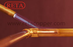 Le brasage pour l'eau du système de tuyauterie en cuivre