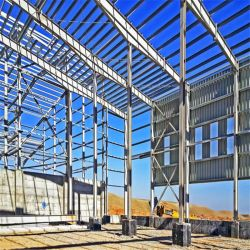 Grande struttura di metalli pesanti portale prefabbricata del blocco per grafici d'acciaio della saldatura