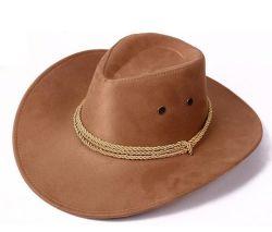Hoed van uitstekende kwaliteit van de Cowboy van de Polyester van Hoed de Promotie 100% van de Cowboy