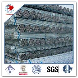 ASTM ein 53/A53m Grad ein galvanisiertes normales Enden-Zink beschichtetes geschweißtes Stahlrohr Dn-25 Geschlechtskrankheit