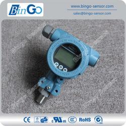 Protocole Hart indicateur du capteur de pression avec affichage LCD pour les gaz d'air