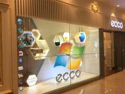 43polegada 3*3transparente de toque LCD transparente publicidade a Emenda de tela de vídeo
