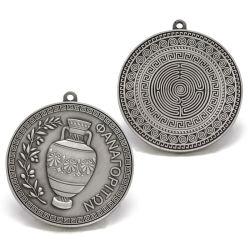 La promoción de metal de plata antiguos militares de la Medalla de Honor Packaging una caja de presentación