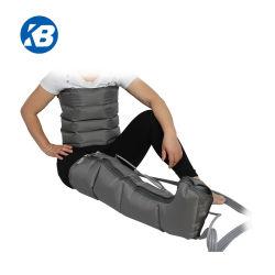 L'unità del Massager del piede di compressione di pressione d'aria dei 4 alloggiamenti per aumenta la pressione dei tessuti muscolari