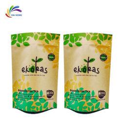 Sacco di carta di plastica biodegradabile per il sacchetto impaccante dell'imballaggio e dello spuntino dell'alimento per animali domestici