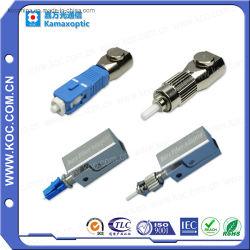 Adapter van de Vezel Sm van Sc FC St LC de Optische Naakte