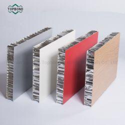 Пвдф покрытием ячеистой алюминиевой конструкции сэндвич-панелей