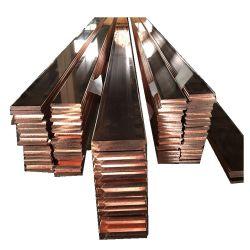 Leitendes Kupfer-flache Stäbe des T2-C11000 in den Ringen