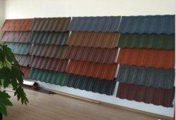 Tetto d'acciaio rivestito di vendita dell'America del Nord di PETRA della pietra calda del tetto