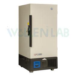 Laboratorio de Refrigeración directa de una sola puerta en posición vertical Equipo de congelación criogénica refrigerador