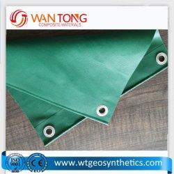 1000d tente flexible chariot couvercle tissu enduit de PVC toile de bâche