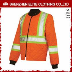 Ropa de trabajo de color naranja reflectante de seguridad (ELTSJI Bombardero Chaqueta-26)