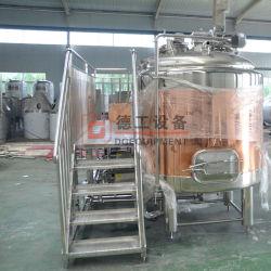 7Chauffage à vapeur bbl isolé automatiquement équipement de brassage de bière en acier inoxydable pour la vente
