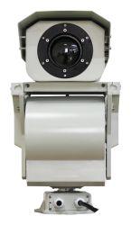 Imagem térmica Câmara PTZ IR Segurança IP de Vídeo Vigilância 16km