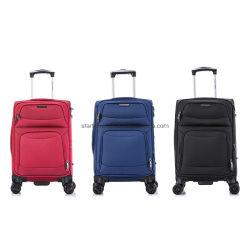 Peso ligero de equipaje suave bolso Trolley Caso