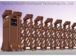 Aço inoxidável elétrico automático porta retrátil /porta rebatível