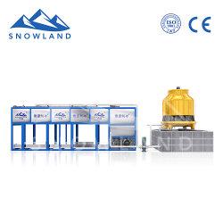 ミニチュアブロックの製氷機、情報処理機能をもった自動氷の生産、簡単な操作、速い氷の生産の速度