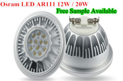 Возможность регулировки яркости индикатор L15W ПОЧАТКОВ ЛАМПА LED AR111 светодиодный светильник