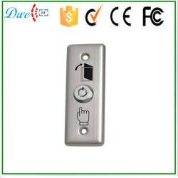 Interruptor de llave de acero inoxidable Pulsador con ninguna NC