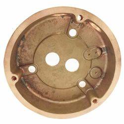 금관 악기 플랜지의 CNC 기계로 가공 부속