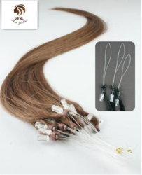 Colore naturale ed estensione dei capelli dell'anello dei capelli di colori micro
