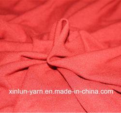 Tissu à armure sergé de coton doux pour la robe de garniture/sous-vêtements de sport