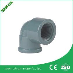 PVC 角管継手、下側パイプエルボ -90 度ダイバータ