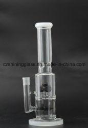 Usine de gros bouton classique Diffuseur en verre clair de tuyau de l'eau par Cangzhou Shining Glasss Products Co., Ltd
