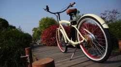 En15184 250W Fat Tyre Used Classic Cruiser bicicletta elettrica in vendita con motori Per Biciclette