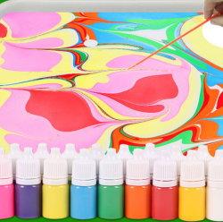 Fantastisches Spielzeug-bestes pädagogisches Kunst-Geschenk-Wasser-marmornder Lack-Installationssatz