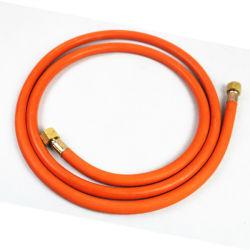 Оранжевый Маслостойкий резиновый материал волокна экранирующая оплетка газа гибкий шланг