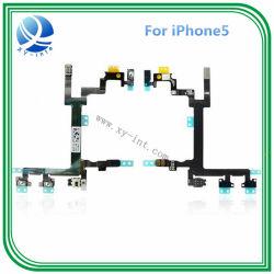 Teléfono celular móvil encendido apagado Cable flexible de alimentación para el iPhone 5G