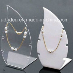 ネックレスまたは宝石類の昇進のためのMuiltの形のアクリルの陳列台か展覧会