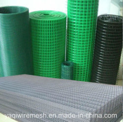 """中国の製造者は1/2 """" PVC電流を通された溶接された金網に塗った"""