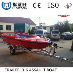 China Barco/remolque galvanizado galvanizar Yacht Tráiler Proveedor