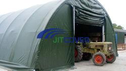 Tenda della cupola, magazzino di memoria di agricoltura, costruzione del tessuto, riparo istante (JIT-306515)