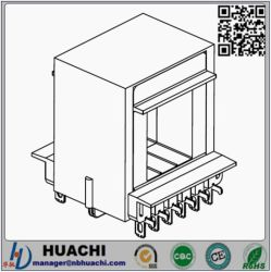 E-IHorizontal 6+6 Bobbin/Plastic Bobbin für Transformer