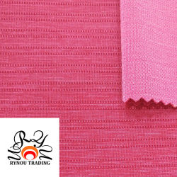 Нейлон полиэстер спандекс смешанных трикотажные ткани в полоску ткани из эластичной ткани вязания