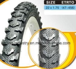 Pneus de bicicletas de montanha de alta qualidade e partes de bicicletas pneumático 22x1.75 para rodas de 22 polegadas