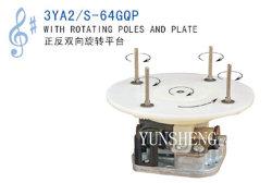 Yunsheng 18 Nota Mola Standard Acionado mecanismo musical com postes rotativos e Placa (3YA2/S-64GQP) E