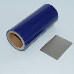 Amovible en acier inoxydable ou de couleur bleu acier/Film de protection de la plaque en acier en miroir