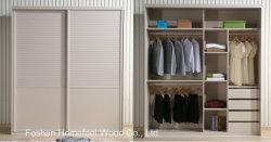 2M personnalisé en bois coulissante intérieure placard penderie