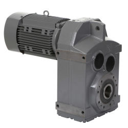 Drehzahlminderer Des Getriebemotors der Parallelwelle der Serie F