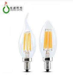 E14 LED E12 110V/220V C35 6W bombilla de incandescencia LED LED Lámpara de luz de velas