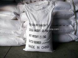 Carbonato de potasio de grado industrial de venta caliente