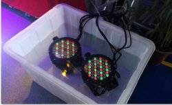 LED étanche par64 Lumière stroboscopique club de nuit