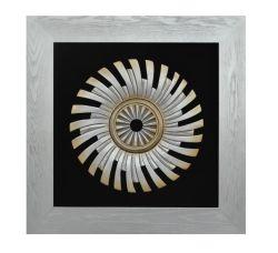 Wall ArtsのためのWoodcarvingのMDF Frame