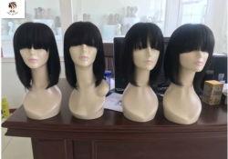 Естественный цвет волос малыша Дмитрий Wig 100% волос человека Бразилии