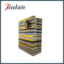 Folha de ouro /hot stamping saco de papel de linha com Tag