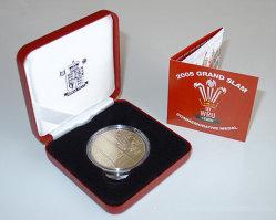عملة معدنية تذكارية ذهبية مع شهادة (JB-022)